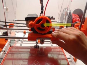 Move X Carriage Left 3D Printer