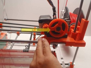 Move X Carriage Right 3D Printer
