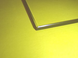 3D Printer BOROSILICATE GLASS BED beveled-edge