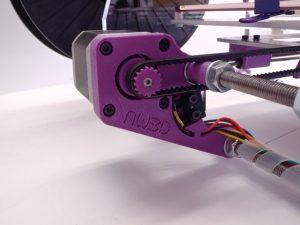 3d printer integrated belt tensioning