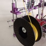 3d printer integrated spool holder