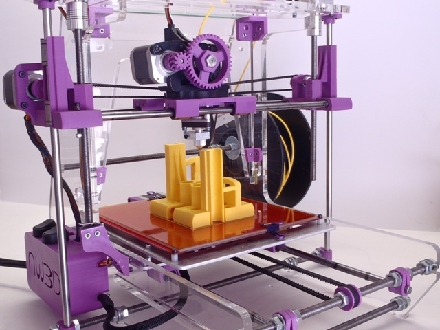 Features of Airwolf 3D V.5 Printer