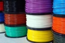 Spools of ABS Filament
