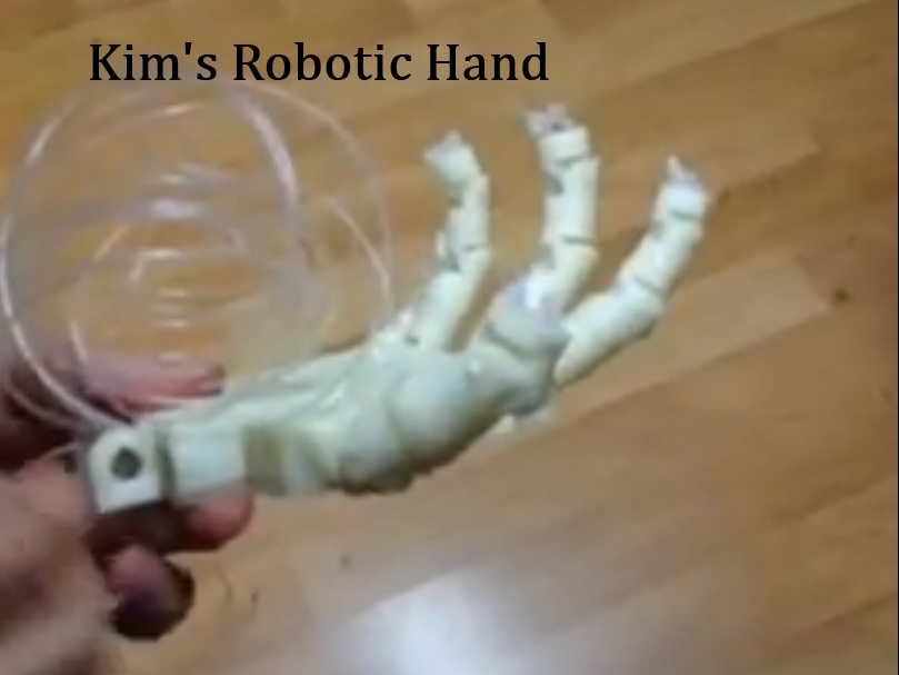 Featured 3D Printed Object – Robotic Hand