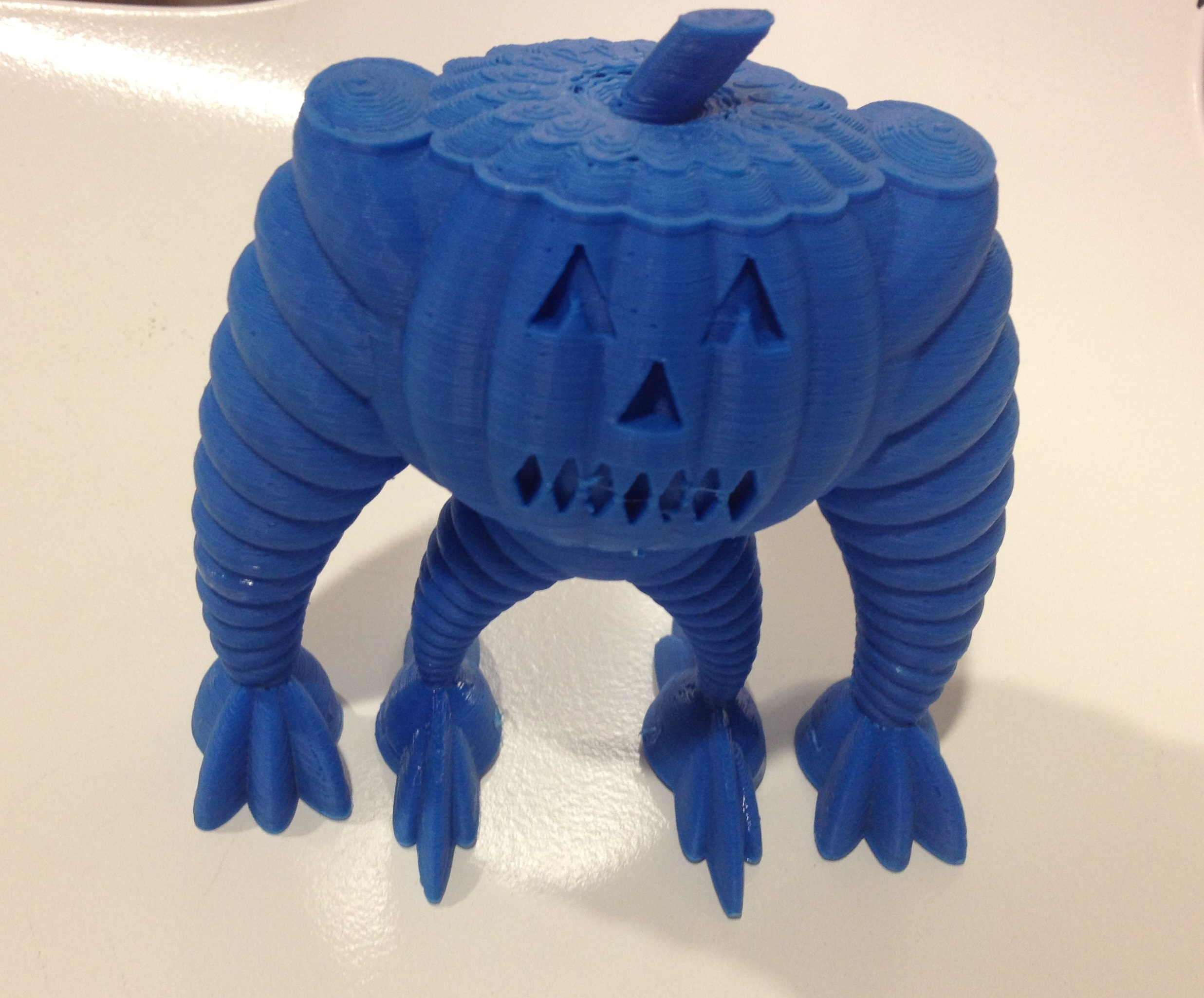 The Great Pumpkin is 3D Printed