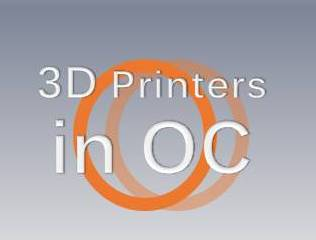 3D Printer Orange County Meetup Is Scheduled for January