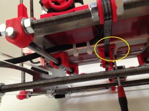 How to tension belt under 3D printer
