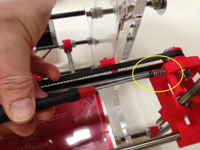 3d Printer Belt Tension 3d Printer Manual Tension Belt