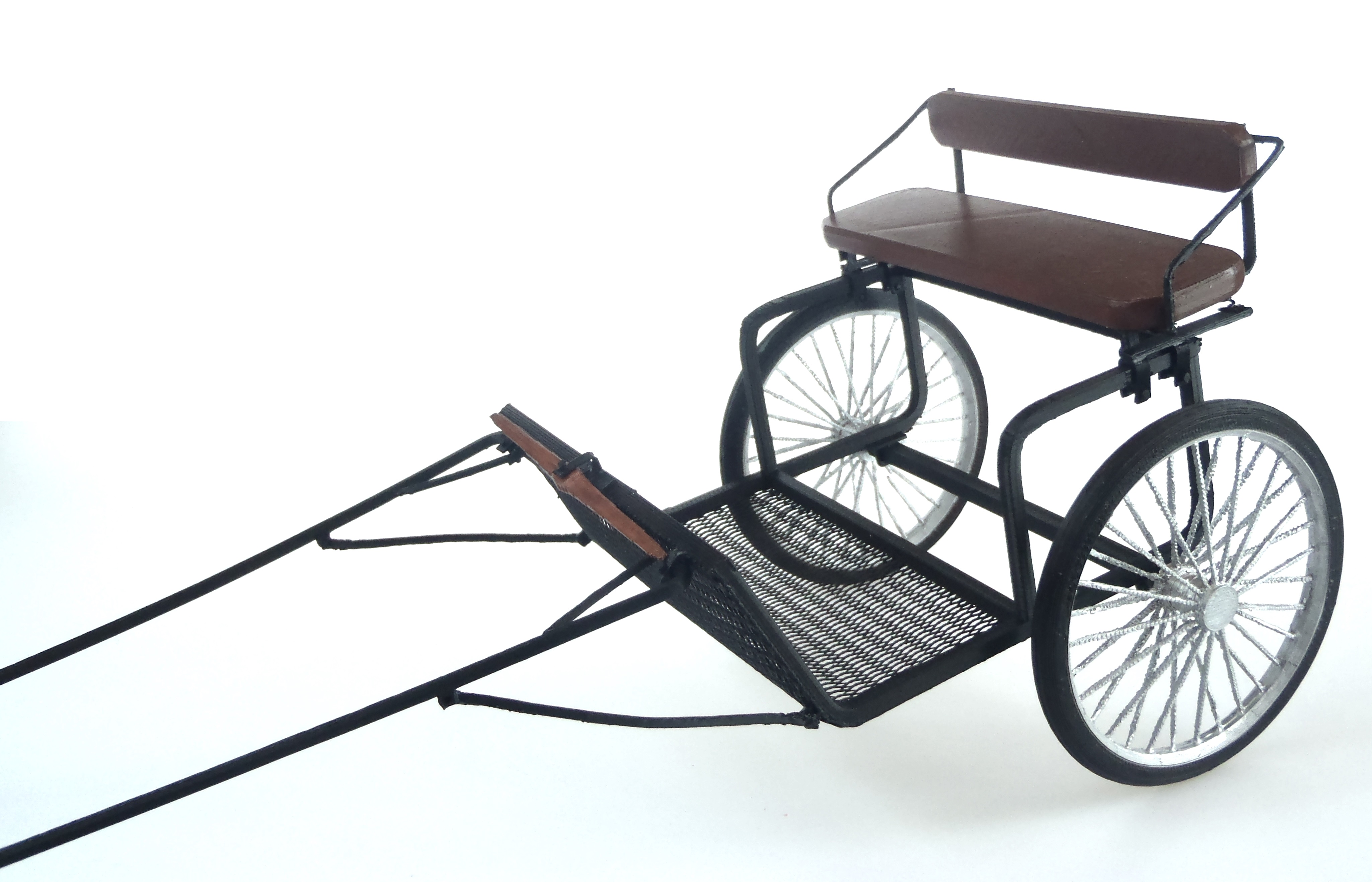 Featured 3D Printed Design Easy Entry Cart