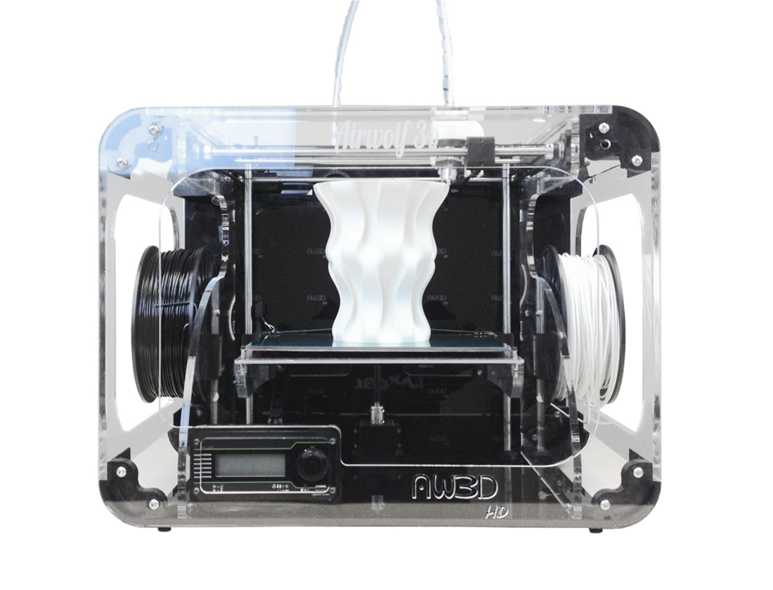 Airwolf 3D Releases New Larger Desktop 3D Printer