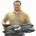 """hector gama 3d printed batmobile 30"""""""