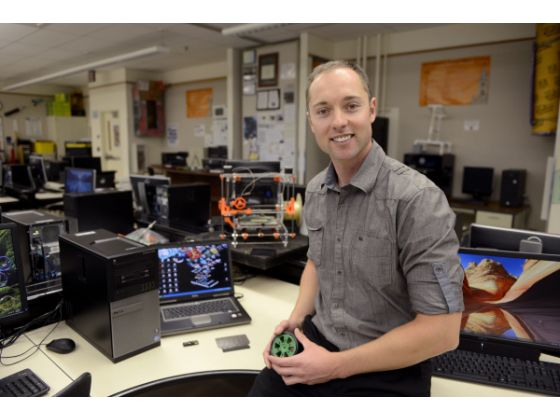 Classroom Hero Kevin Crossett at Huntington Beach High School