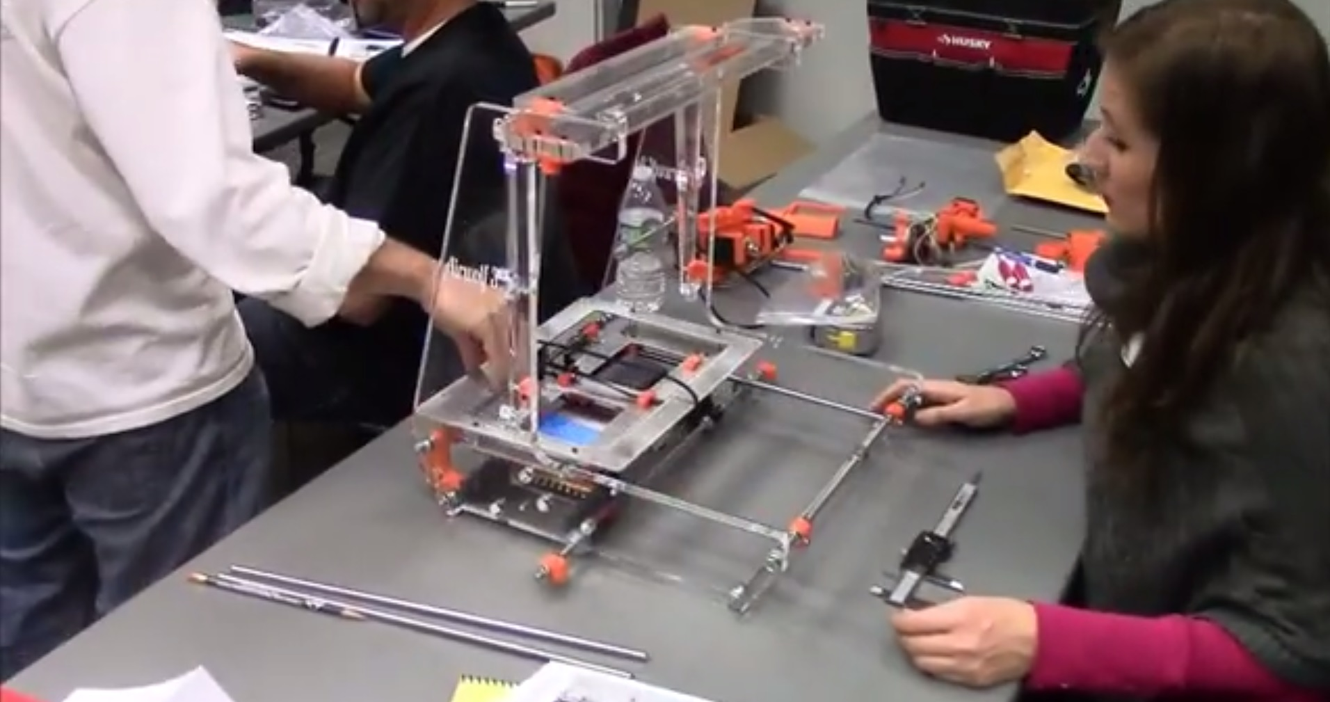 Teachers Build 3D Printers for the Classroom