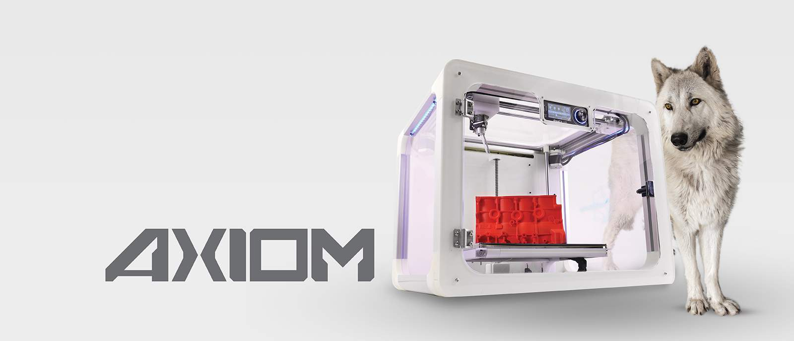 Axiom 3D printer Slider iamge