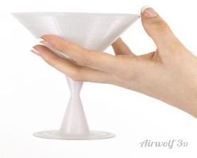 PET martini glass