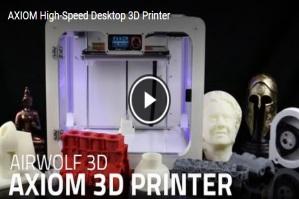 AXIOM CoreXY 3D Printer Video 2
