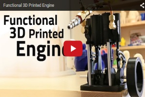 Functional 3D Printed Engine Thumbnail