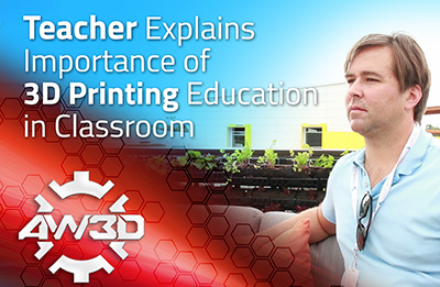 3D Printing Education in Classroom