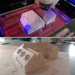 JB Architecture uses Airwolf 3D printers for 3D printing architectural models.