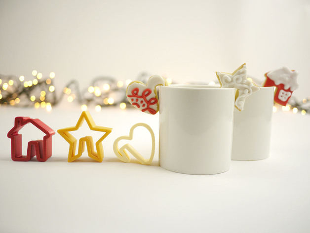 3D Print Christmas Cooke Cutters