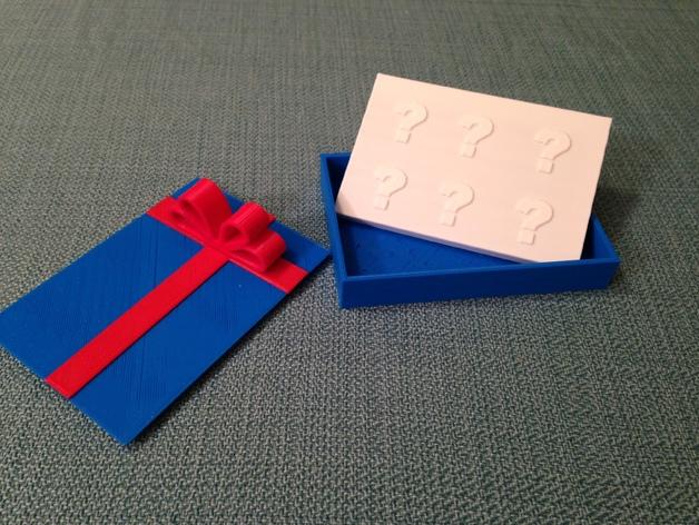 3D Print Giftcard Holder