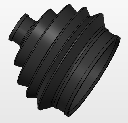 Automotive Part for 3D Printing