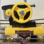 3D Printer 4--Bearing X Carriage Requiring No Fasteners And Durable 4-Bearing Design