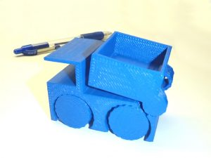 Airwolf 3D Printed-Toy Dump Truck