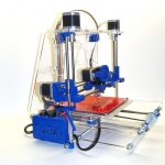 3D Printer In Blue