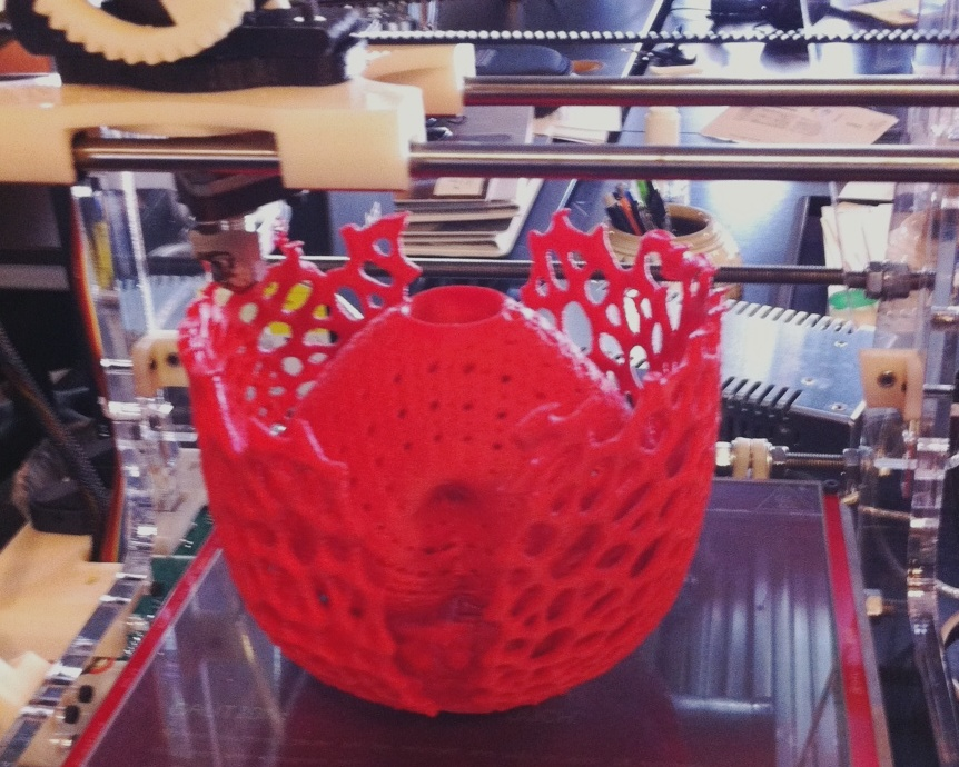 3D printing Adam and Eve Vase - Math Art by Dizingof