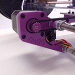 3d printer integrated belt tensioning