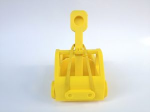 yellow catapult aimed at you