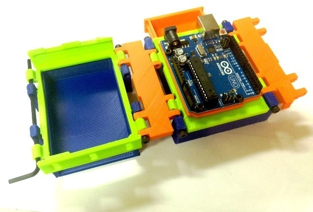 Arduino 3D Printed Lab Box