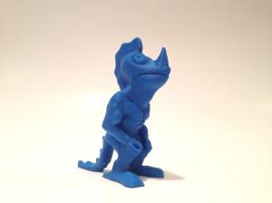 dino dude in blue