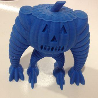 Blue Great Pumpkin