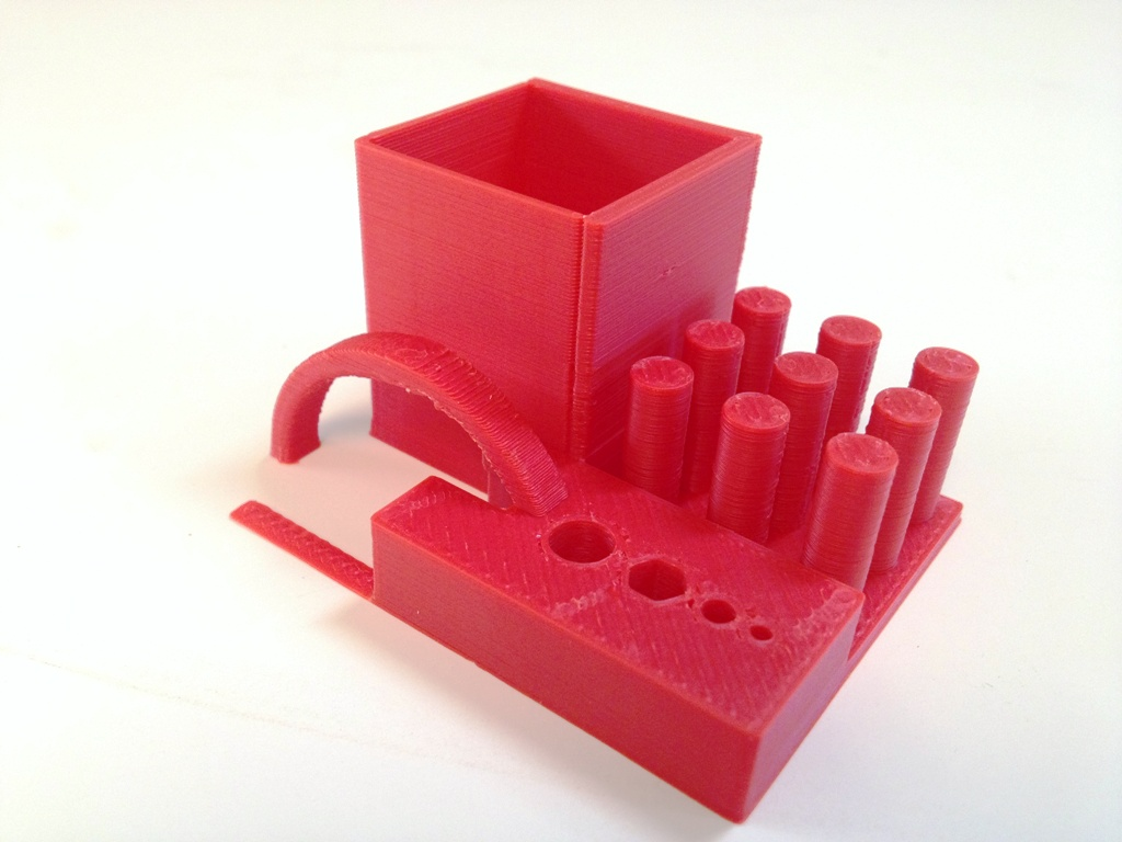 make magazine 3d printer torture test