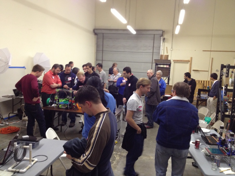 3d printers in oc meet up january