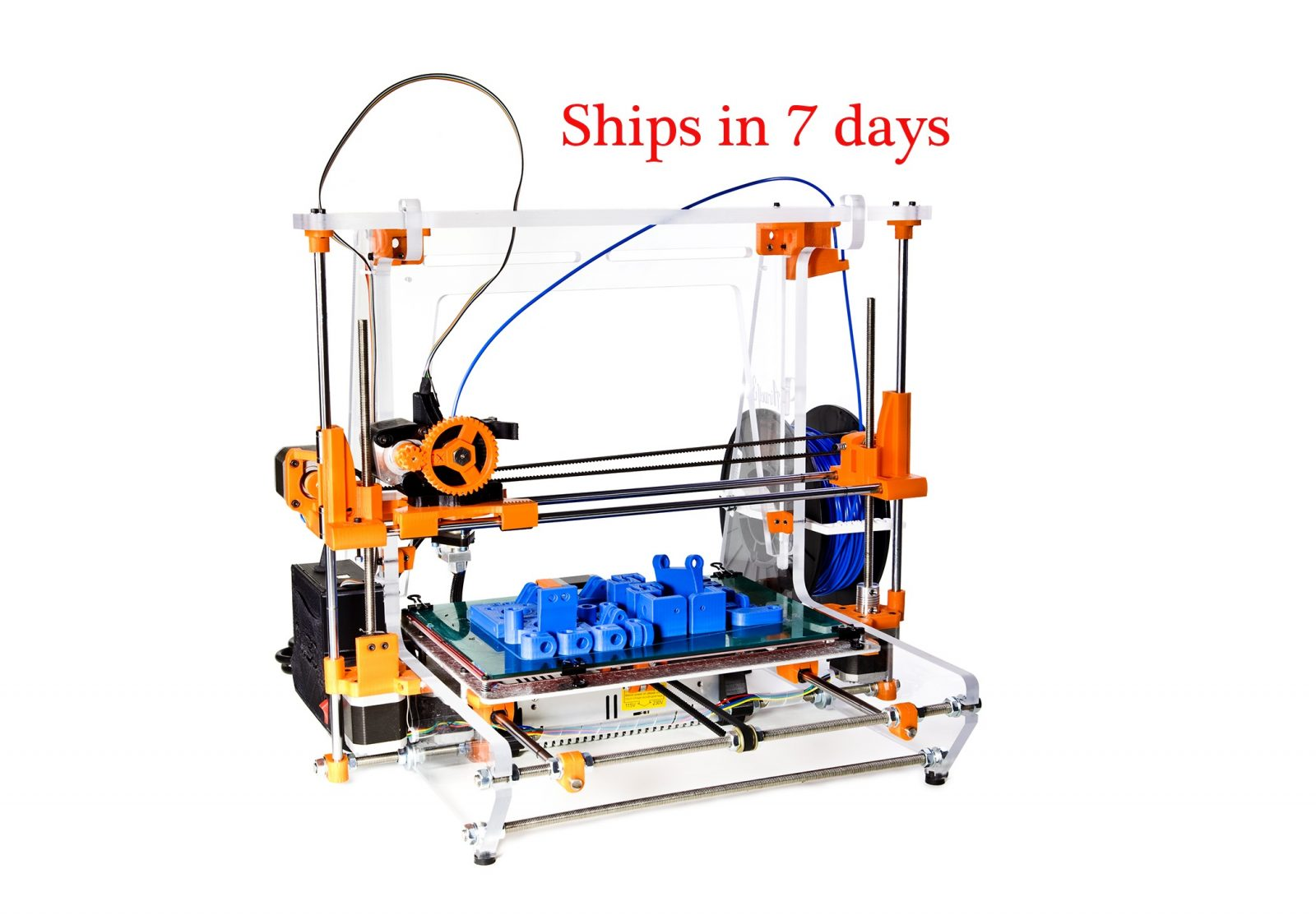 xl 3d printer 7 days