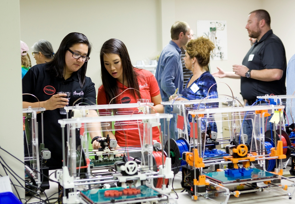 3D printer training workshop