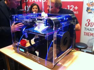 Desktop 3D Printer HD in Paris 3D Printshow