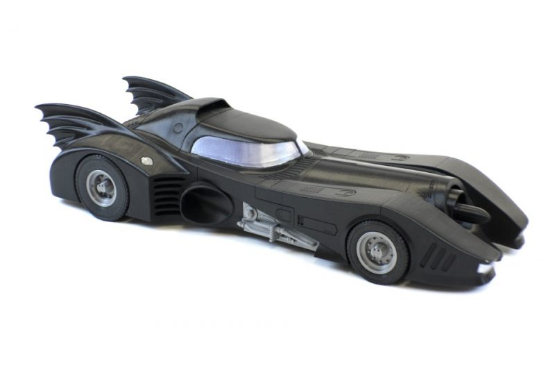 "30"" 3d printed batmobile in 3DS max"