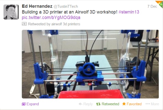tweeting teacher building 3d printers for the classroom