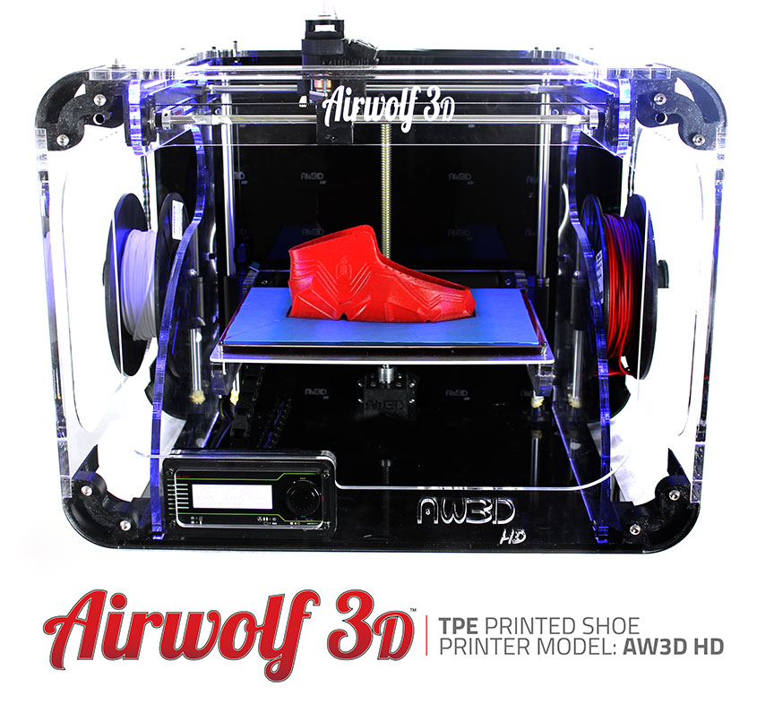 3d printed show in tpe