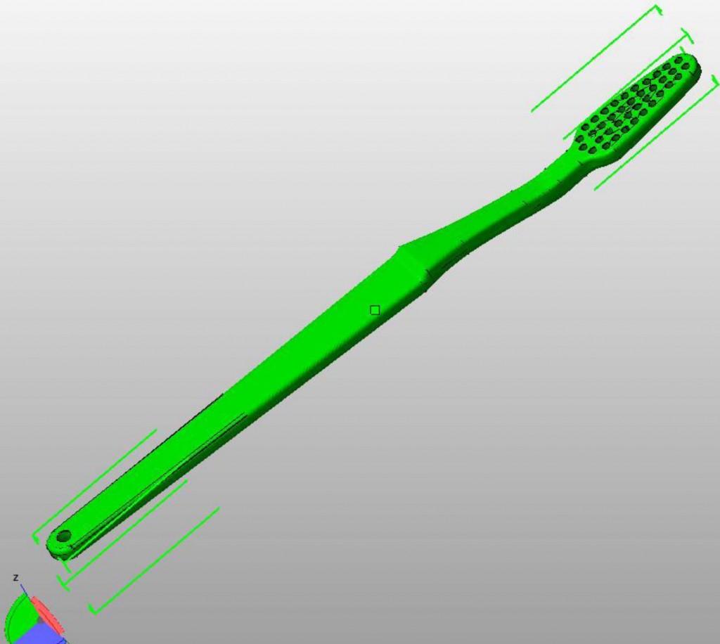 Toothbrush stl
