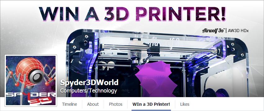 Win a 3D printer