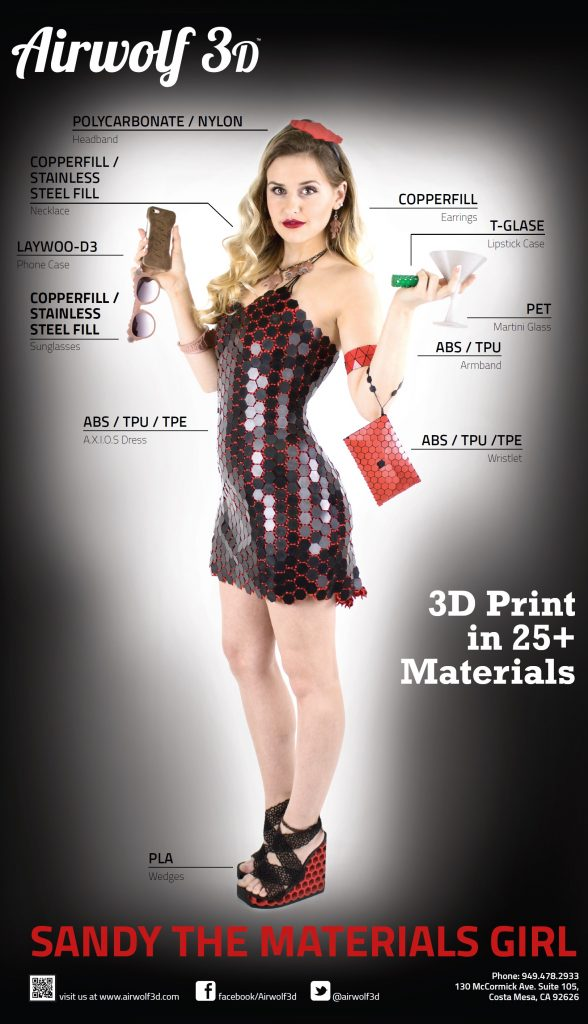 2015 sandy 3D printer girl