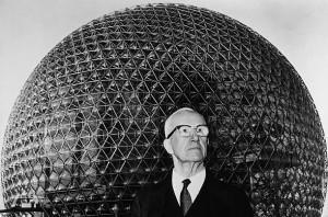 Neo-futurist architect Buckminster Fuller