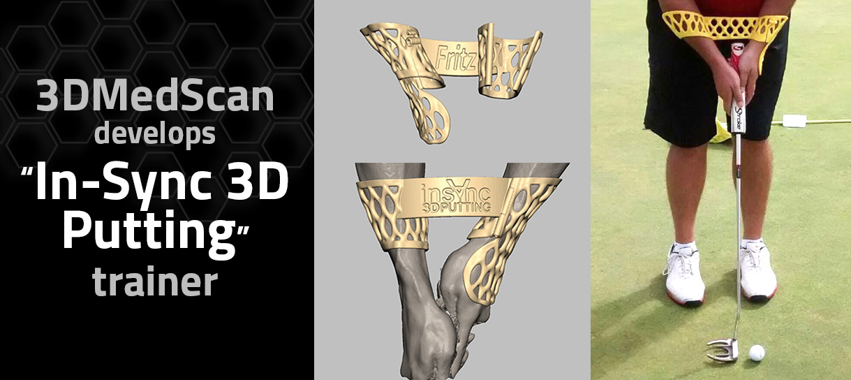 3DMedScan Putting trainer