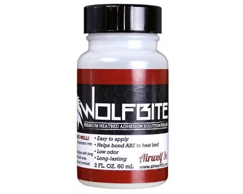 Wolfbite™ adhesive solution.