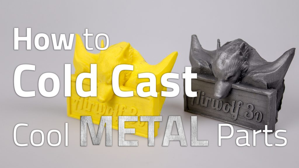 Cold Casting with 3D Printer
